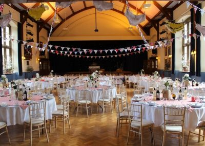 Wedding Decorations in the Pre Hall