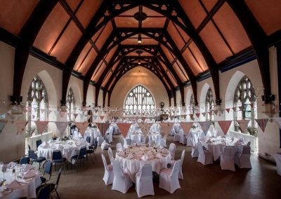 The Grand Hall before a Wedding - Betty Bhandari Photography