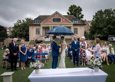 Vows in the Rain - Betty Bhandari Photography