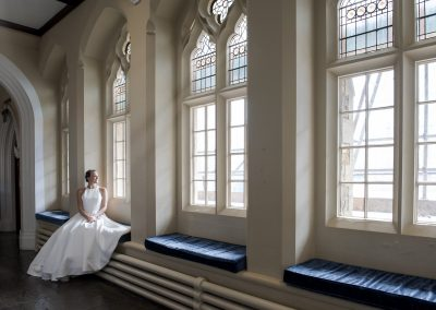 Wedding shoot in Bristol at Clifton College. Beata Cosgrove Photography